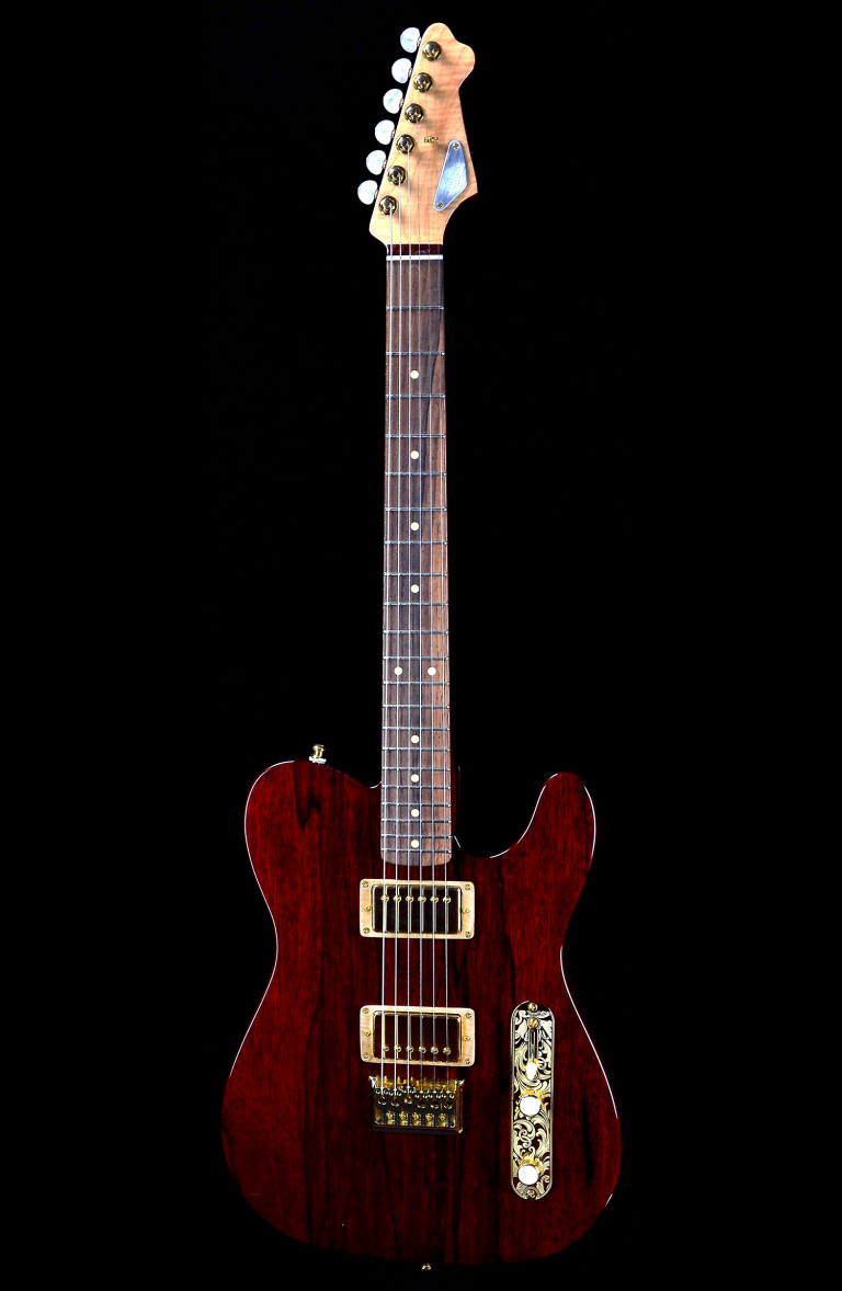 Red Hot Tee RH Custom Guitar Shop 1