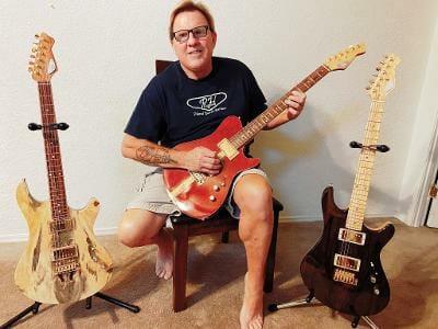 Robert Montee Guitar Challenge Winner RH Custom Guitar