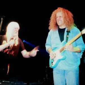 Matt Hocking and Edgar Winter